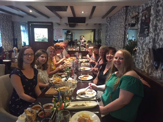 End of term social in Ashby de la Zouch