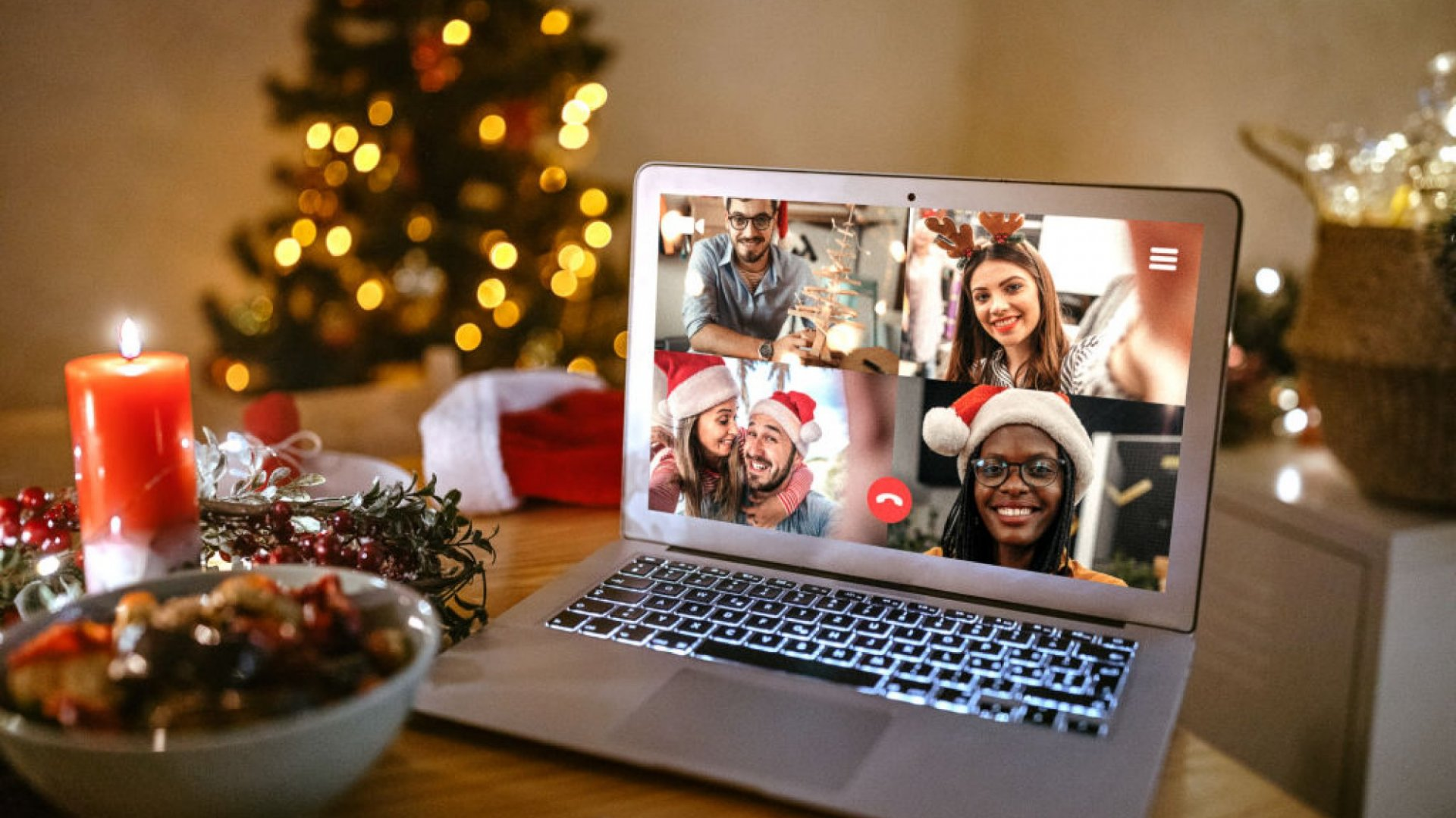 Our Christmas online French For Fun social !