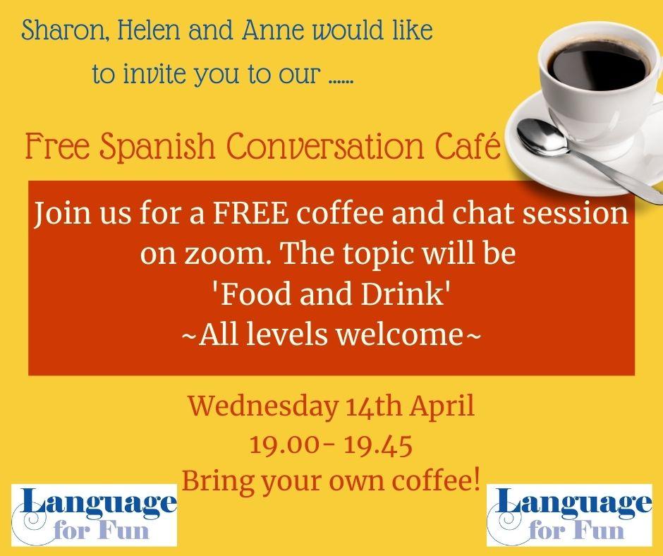 Free Spanish Conversation Café
