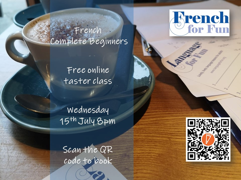 Free French beginners taster class