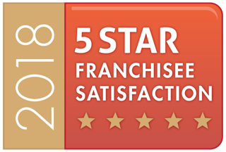 Thumbnail: 5 Star Franchisee Status and finalist in the Best New Entry franchise awards!