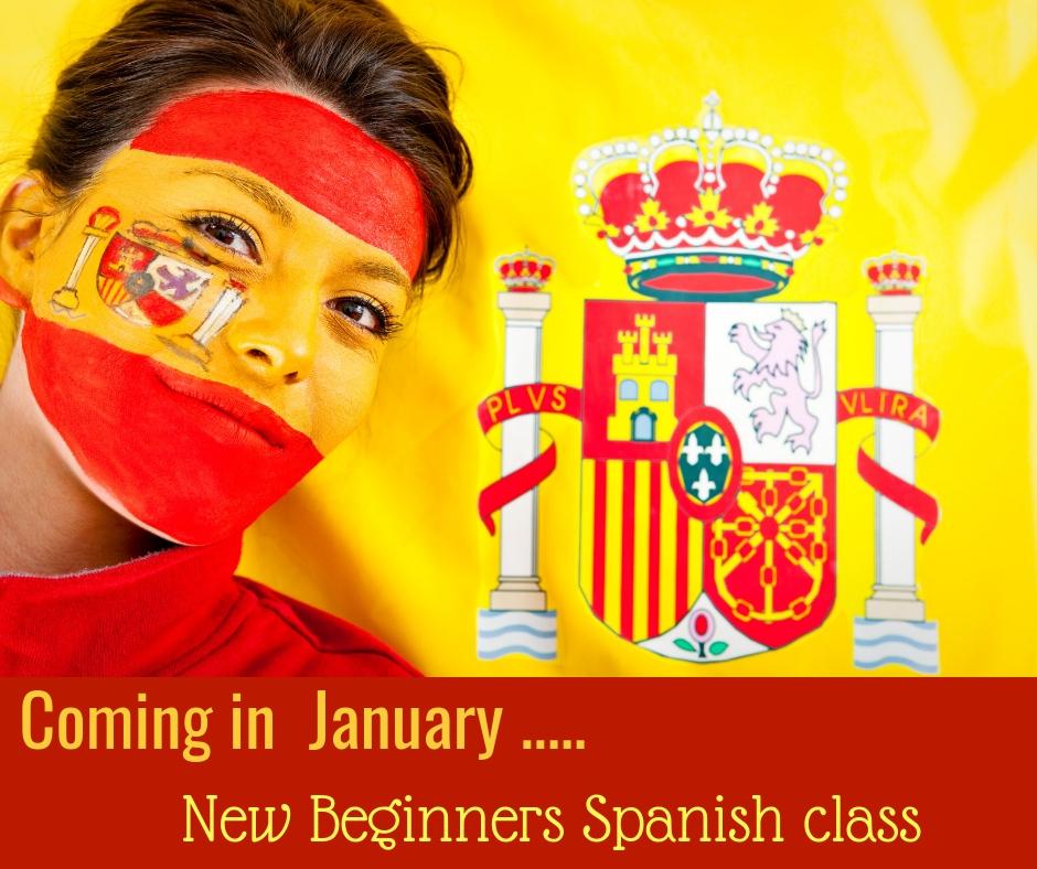 New Class- Beginners Spanish