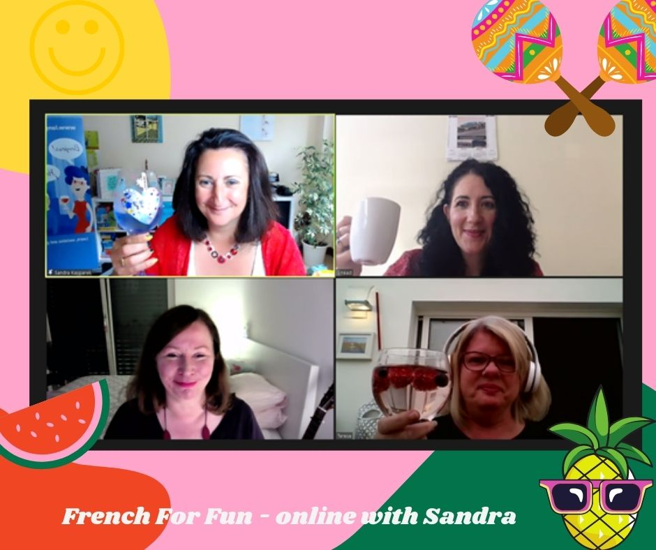 Our Summer French For fun online Social