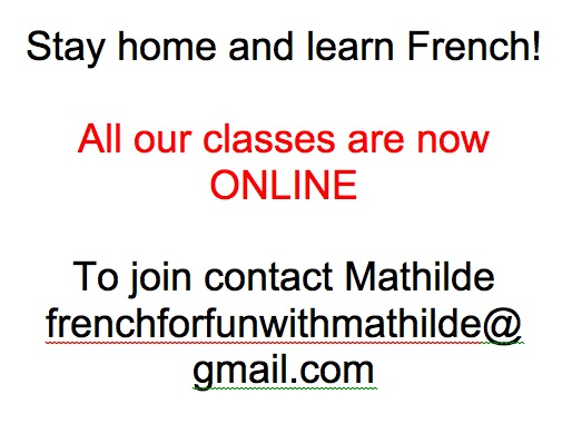 Online classes Sept 2020