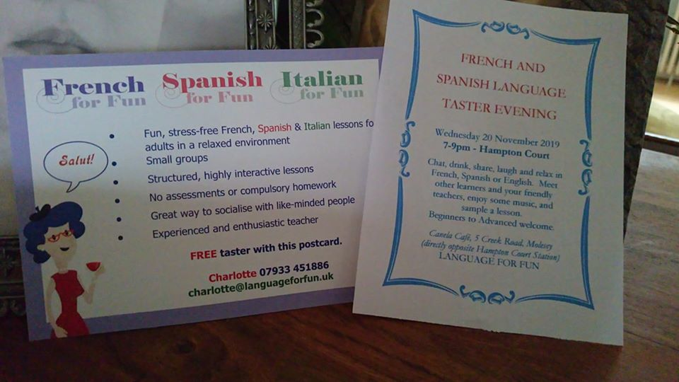 New taster Spanish classes coming in January!