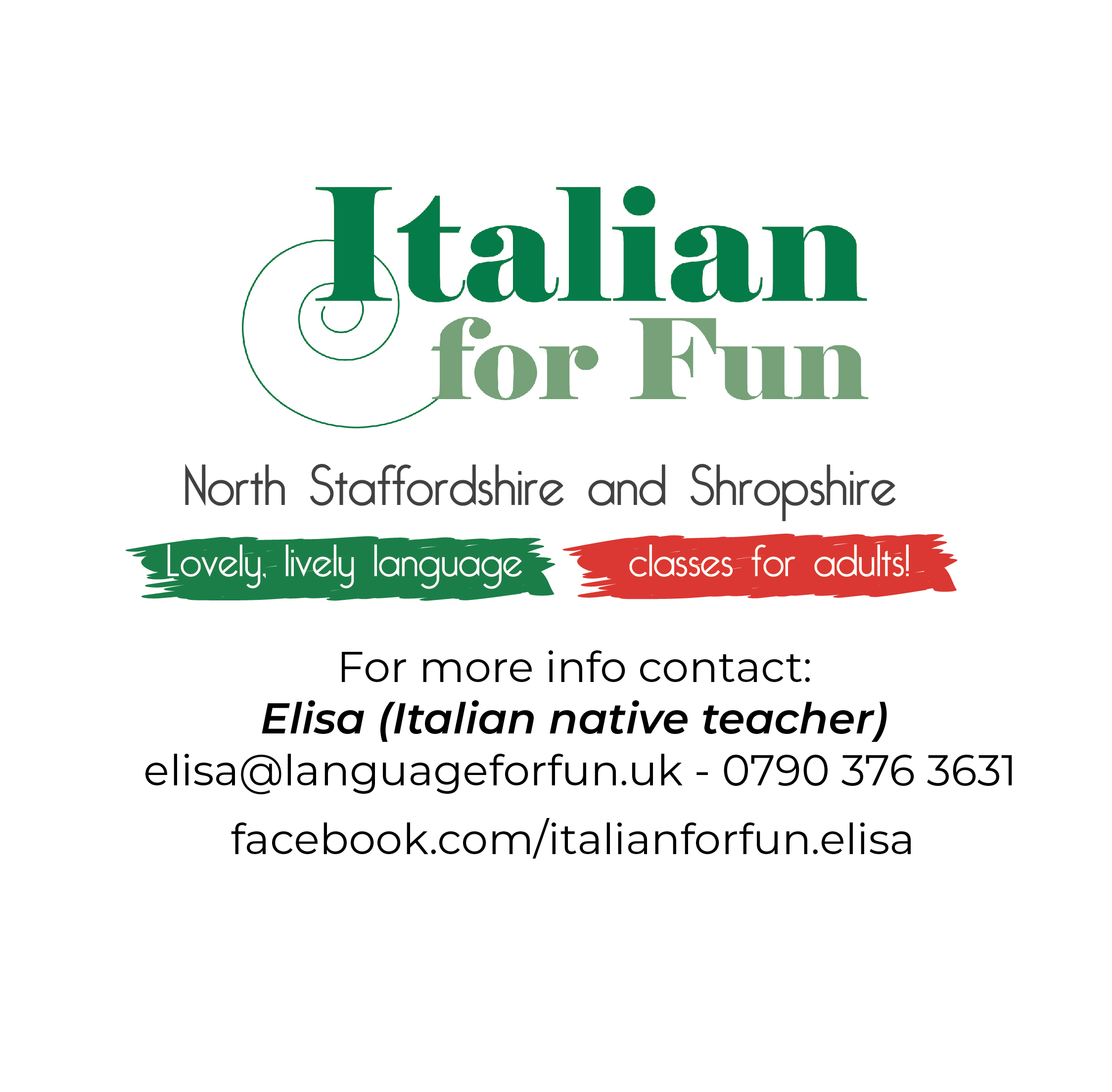 Italian For Fun – New Term Social Event