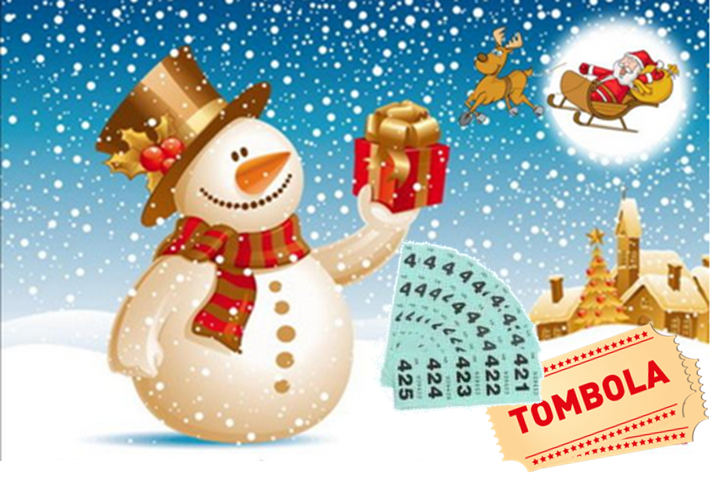 Tombola di Natale (Christmas Raffle) – Italian for fun Learners and Family